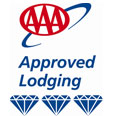 AAA 3 diamond Approved Lodging